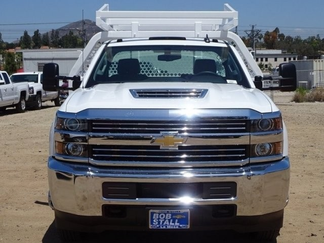 2018 Silverado 3500 Regular Cab DRW 4x2,  Royal Contractor Body #183217 - photo 5