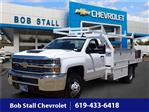 2018 Silverado 3500 Regular Cab DRW 4x2,  Royal Contractor Body #183217 - photo 1