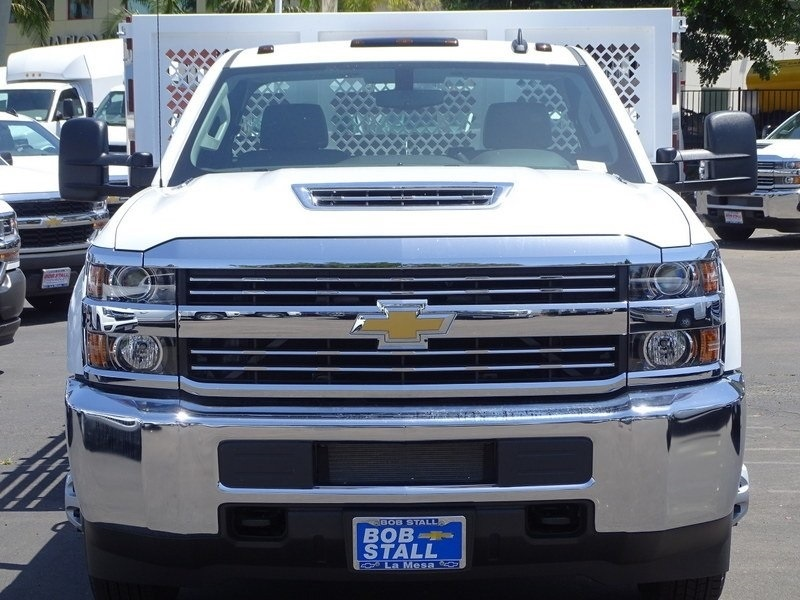 2018 Silverado 3500 Regular Cab DRW 4x2,  Royal Stake Bed #183218 - photo 4
