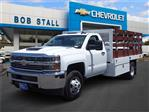2018 Silverado 3500 Regular Cab DRW 4x2,  Royal Stake Bed #183218 - photo 1