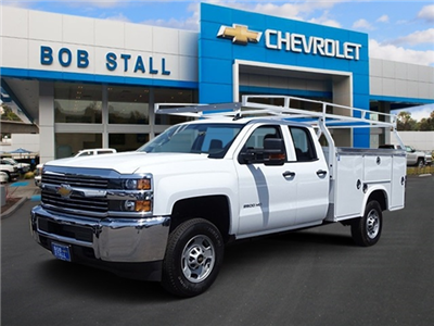 2018 Silverado 2500 Double Cab 4x2,  Royal Service Body #183234 - photo 1
