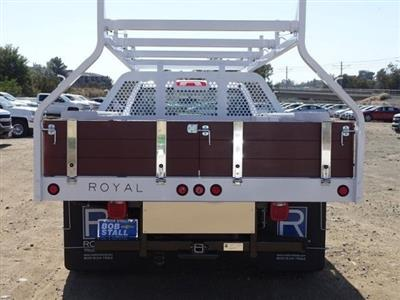 2018 Silverado 3500 Regular Cab DRW 4x2,  Royal Contractor Body #183246 - photo 11