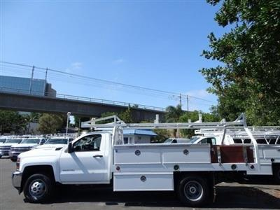 2018 Silverado 3500 Regular Cab DRW 4x2,  Royal Contractor Body #183296 - photo 2