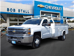 2018 Silverado 3500 Regular Cab DRW 4x2,  Royal Service Body #183344 - photo 1