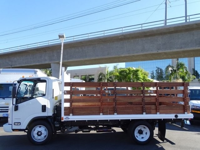 2018 LCF 4500 Regular Cab 4x2,  Martin's Quality Truck Body Stake Bed #184018 - photo 1