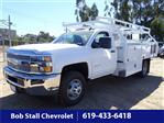 2019 Silverado 3500 Regular Cab DRW 4x2,  Royal Contractor Body #193015 - photo 1