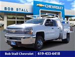 2019 Silverado 3500 Crew Cab DRW 4x2,  Harbor Contractor Body #193317 - photo 1