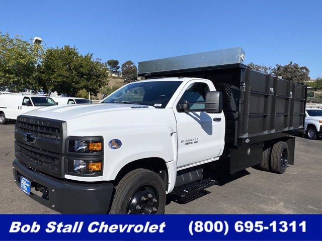 2020 Chevrolet Silverado Medium Duty Regular Cab DRW 4x2, Custom Truck Body & Equipment Landscape Dump #203272 - photo 1