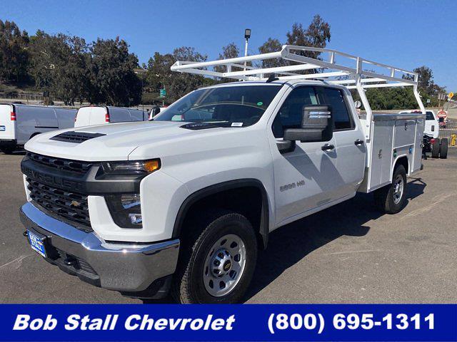 2020 Chevrolet Silverado 3500 Double Cab 4x2, Harbor Service Body #203421 - photo 1