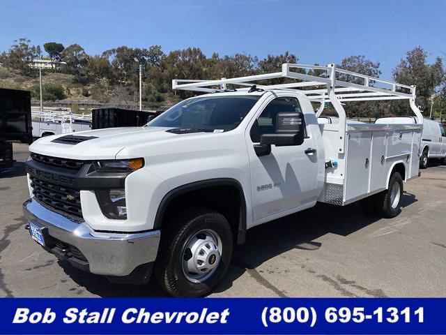2021 Chevrolet Silverado 3500 Regular Cab 4x2, Royal Truck Body Service Body #213101 - photo 1