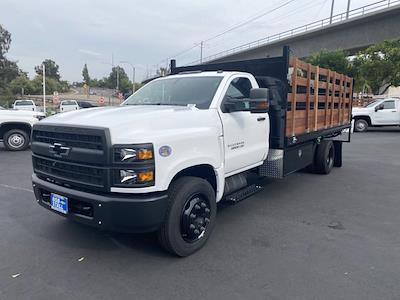 2021 Silverado Medium Duty Regular Cab DRW 4x2,  Martin's Quality Truck Body Landscape Dump #213136 - photo 1