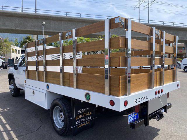 2021 Chevrolet Silverado 3500 Regular Cab 4x2, Royal Truck Body Stake Bed #213178 - photo 1