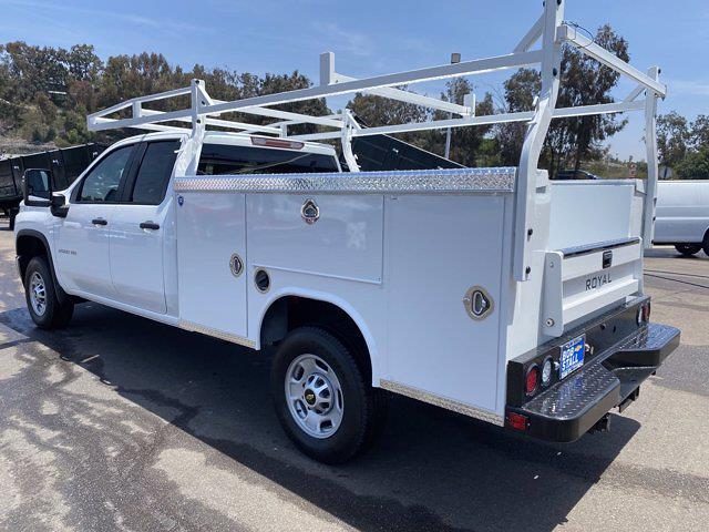 2021 Chevrolet Silverado 2500 Double Cab 4x2, Royal Truck Body Service Body #213201 - photo 1