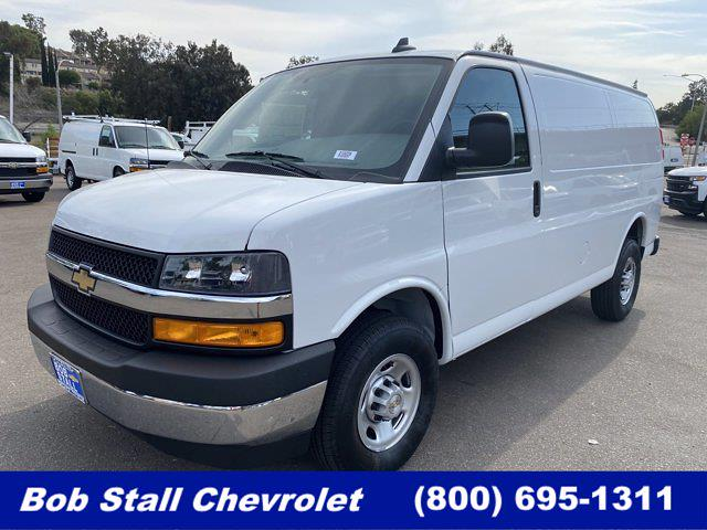 2021 Chevrolet Express 2500 4x2, Masterack Upfitted Cargo Van #213228 - photo 1