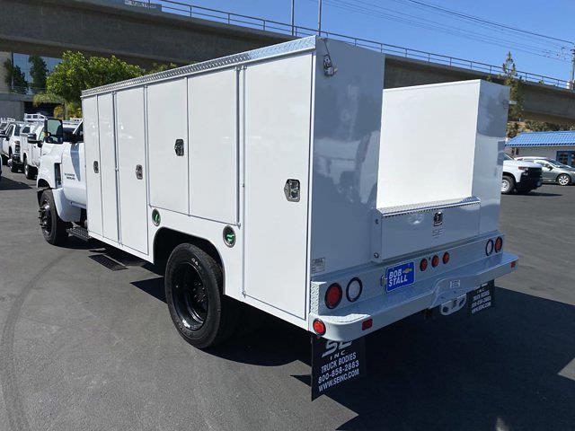 2021 Silverado Medium Duty Regular Cab DRW 4x2,  Scelzi Signature Service Body #213268 - photo 2