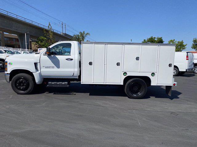 2021 Silverado Medium Duty Regular Cab DRW 4x2,  Scelzi Signature Service Body #213268 - photo 20