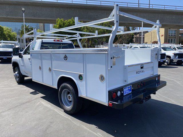 2021 Silverado 3500 Regular Cab 4x2,  Royal Truck Body Service Body #213290 - photo 2