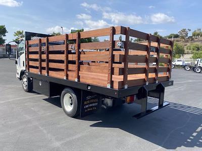 2021 LCF 3500 4x2,  Custom Truck Body & Equipment, Inc. Stake Bed #213310 - photo 2