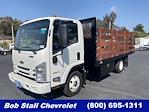 2021 LCF 3500 4x2,  Custom Truck Body & Equipment, Inc. Stake Bed #213310 - photo 1