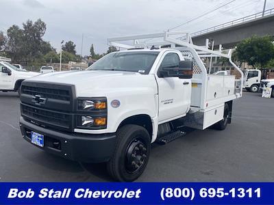 2021 Silverado Medium Duty Regular Cab DRW 4x2,  Royal Truck Body Contractor Body #213343 - photo 1