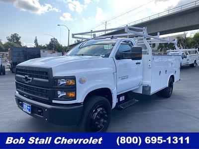 2021 Silverado Medium Duty Regular Cab DRW 4x2,  Royal Truck Body Service Body #213348 - photo 1
