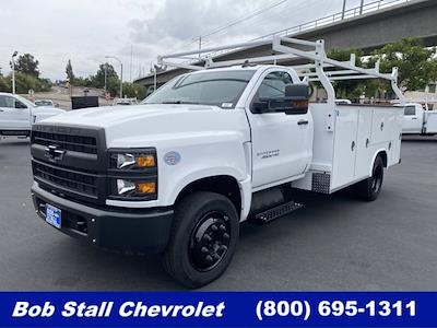 2021 Silverado Medium Duty Regular Cab DRW 4x2,  Royal Truck Body Service Body #213353 - photo 1