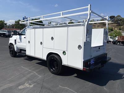 2021 Silverado Medium Duty Regular Cab DRW 4x2,  Royal Truck Body Service Body #213355 - photo 2