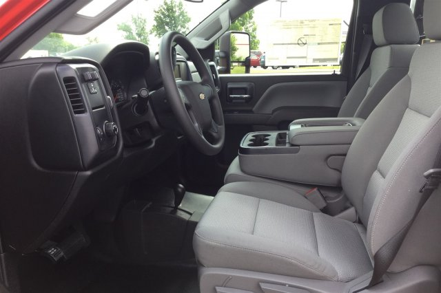 2017 Silverado 3500 Regular Cab DRW 4x4, Monroe Contractor Body #17-8036 - photo 9