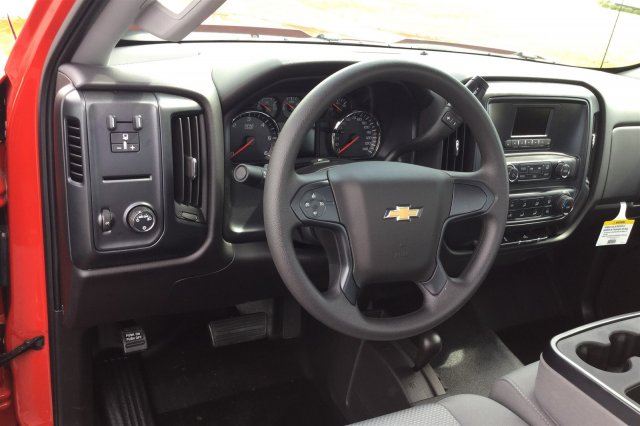 2017 Silverado 3500 Regular Cab DRW 4x4, Monroe Contractor Body #17-8036 - photo 10