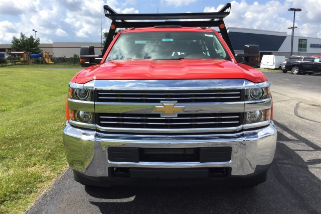 2017 Silverado 3500 Regular Cab DRW 4x4, Monroe Contractor Body #17-8036 - photo 3