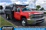 2017 Silverado 3500 Regular Cab DRW 4x4, Monroe Contractor Body #17-8036 - photo 1