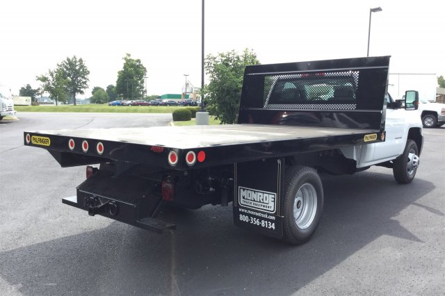 2017 Silverado 3500 Regular Cab DRW 4x4, Palfinger Platform Body #17-8189 - photo 2
