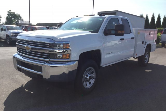2017 Silverado 3500 Double Cab 4x4, Knapheide Service Body #17-8219 - photo 16