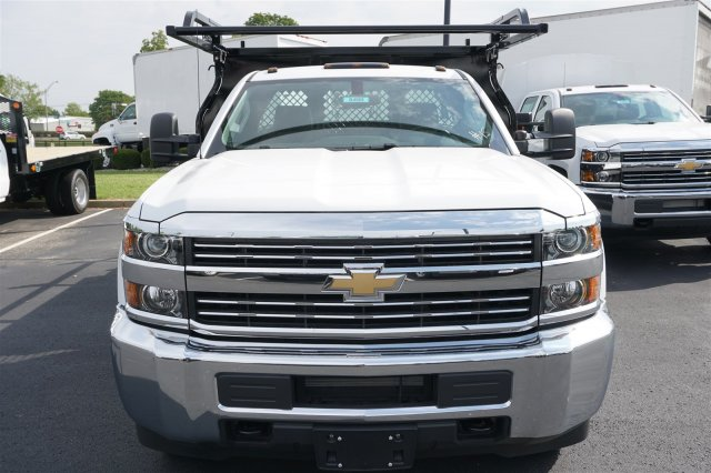 2017 Silverado 3500 Regular Cab DRW, Knapheide Contractor Body #17-8499 - photo 3