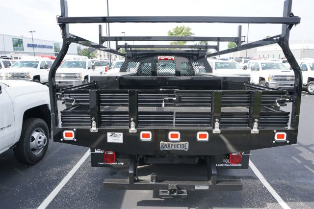 2017 Silverado 3500 Regular Cab DRW, Knapheide Contractor Body #17-8499 - photo 6