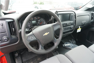 2017 Silverado 3500 Regular Cab DRW 4x4, Platform Body #17-8618 - photo 12