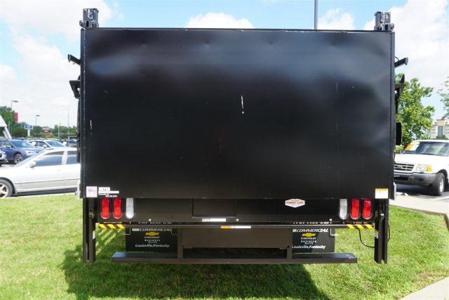 2017 LCF 5500HD Regular Cab 4x2,  Knapheide Stake Bed #17-8646 - photo 8