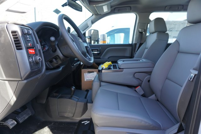 2018 Silverado 3500 Crew Cab DRW 4x4, Monroe Dump Body #18-0294 - photo 11