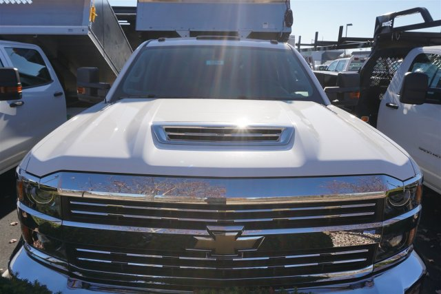 2018 Silverado 3500 Crew Cab DRW 4x4, Monroe Dump Body #18-0294 - photo 3