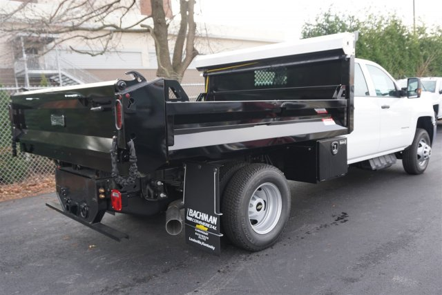 2018 Silverado 3500 Crew Cab DRW 4x4, Knapheide Drop Side Dump Bodies Dump Body #18-0378 - photo 2