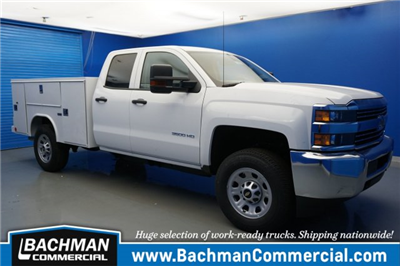 2018 Silverado 3500 Double Cab, Reading SL Service Body #18-0579 - photo 1