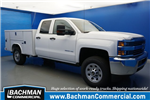 2018 Silverado 3500 Double Cab 4x2,  Reading SL Service Body #18-0579 - photo 1