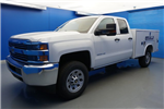 2018 Silverado 3500 Double Cab 4x2,  Reading SL Service Body #18-0579 - photo 4