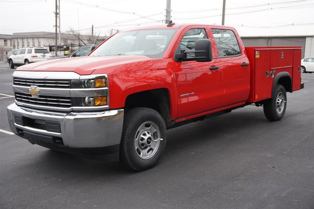 2018 Silverado 2500 Crew Cab 4x4, Monroe Service Body #18-0604 - photo 4