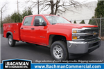 2018 Silverado 2500 Crew Cab 4x4, Monroe Service Body #18-0604 - photo 1