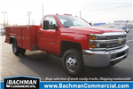 2018 Silverado 3500 Regular Cab DRW 4x4, Monroe Service Body #18-0607 - photo 1