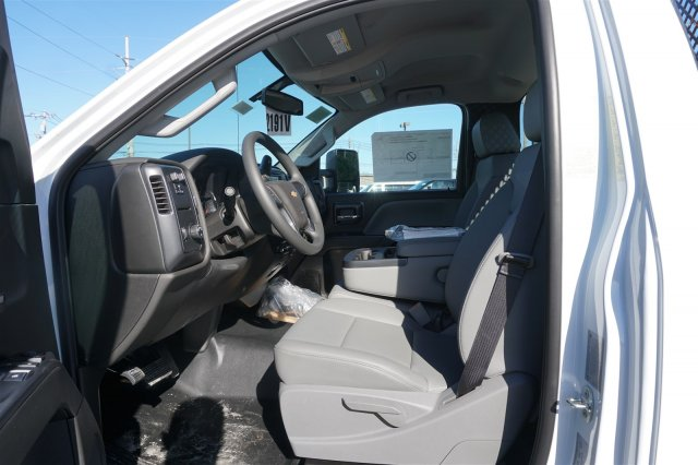 2018 Silverado 3500 Regular Cab DRW 4x2,  Palfinger Stake Bed #18-0630 - photo 10