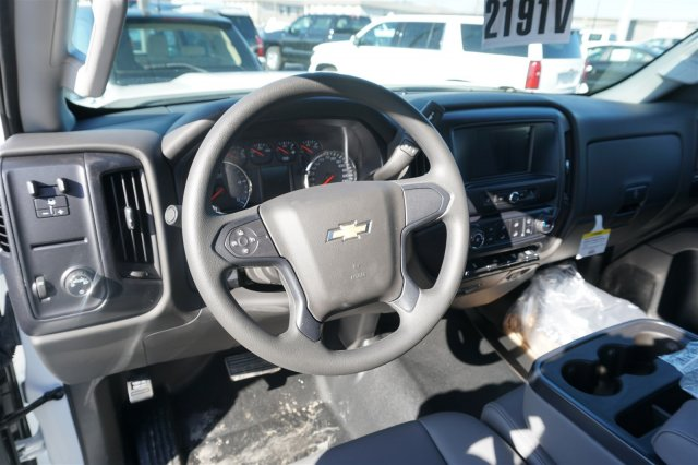 2018 Silverado 3500 Regular Cab DRW 4x2,  Palfinger Stake Bed #18-0630 - photo 12