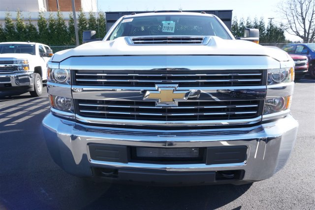2018 Silverado 3500 Regular Cab DRW 4x2,  Palfinger Stake Bed #18-0630 - photo 3