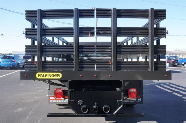2018 Silverado 3500 Regular Cab DRW 4x2,  Palfinger Stake Bed #18-0630 - photo 6